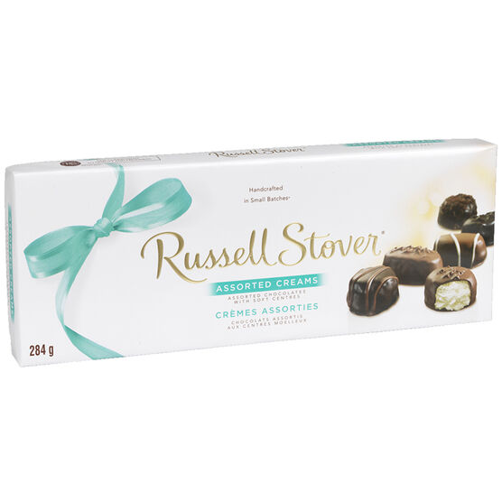 Russell Stover Assorted Creams Chocolate Box - 284g
