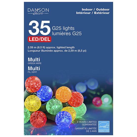 Danson Outdoor LED Ball Lights - Multi - 35's
