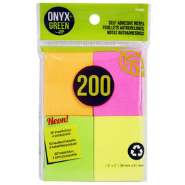 Onyx Green Notes - 50's/4 pads