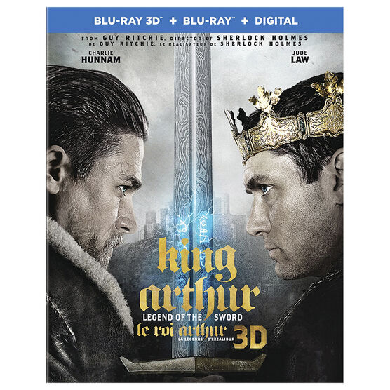 King Arthur: Legend of the Sword - 3D Blu-ray