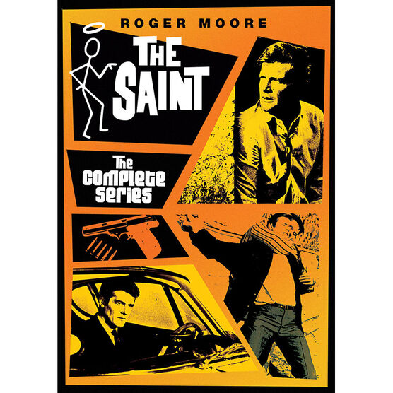 The Saint: The Complete Series - DVD
