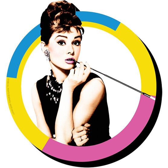 Audrey Hepburn Circle Funky Chunky Magnet - Assorted