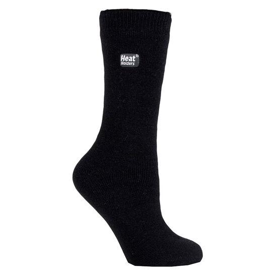 Heat Holders Ladies Lite Crew Sock - Black