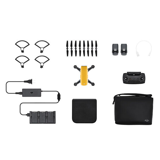 DJI Spark Fly More Combo - Yellow - CP.PT.000900