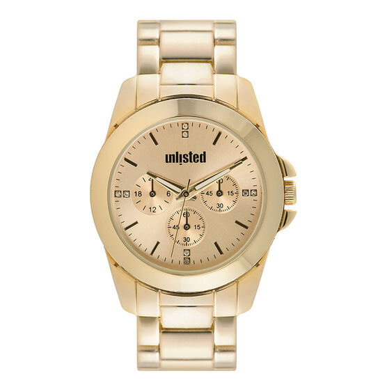 Unlisted by Kenneth Cole Women's Chronograph Watch - 10032071