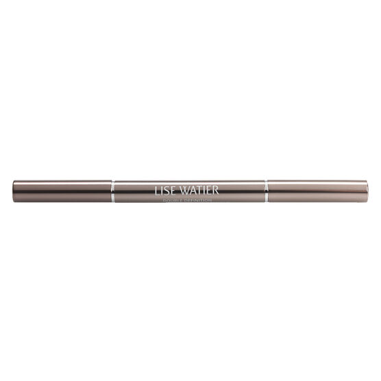 Lise Watier Double Definition Automatic Brow Liner - Chatain
