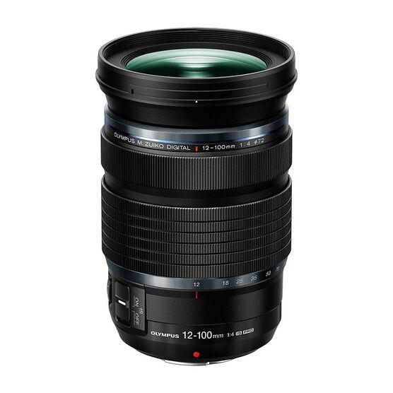 Olympus 12-100mm F4.0 IS PRO Lens - Black - V314080BU000