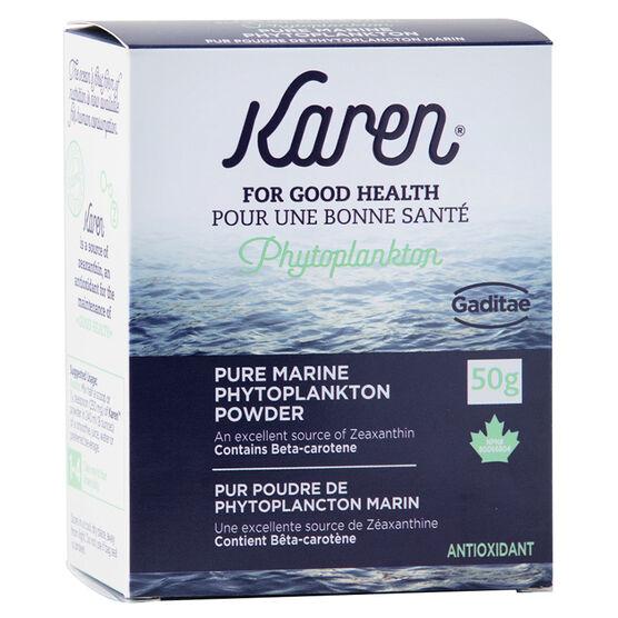 Karen Pure Marine Phytoplankton Powder - 50g