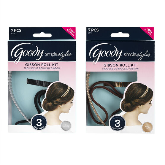 Goody Simple Styles Gibson Roll Kit - Assorted - 7's