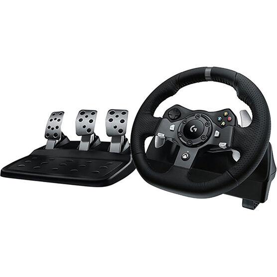 Logitech G920 Racing Wheel - Black - 941-000121