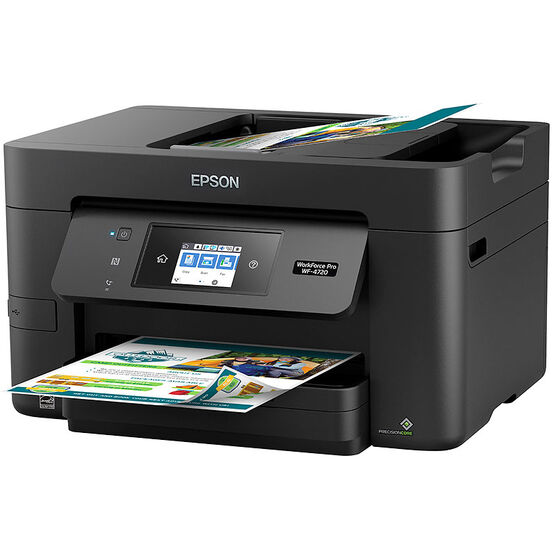Epson WorkForce Pro WF-4720 All-in-One Printer - Black -  C11CF74201
