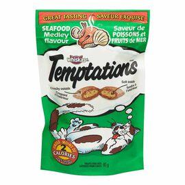 Whiskas Temptations Treats for Cats - Seafood Medley - 85g