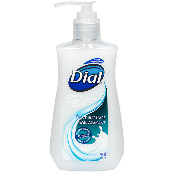 Dial Soothing Care Liquid Soap with Collagen - 221ml