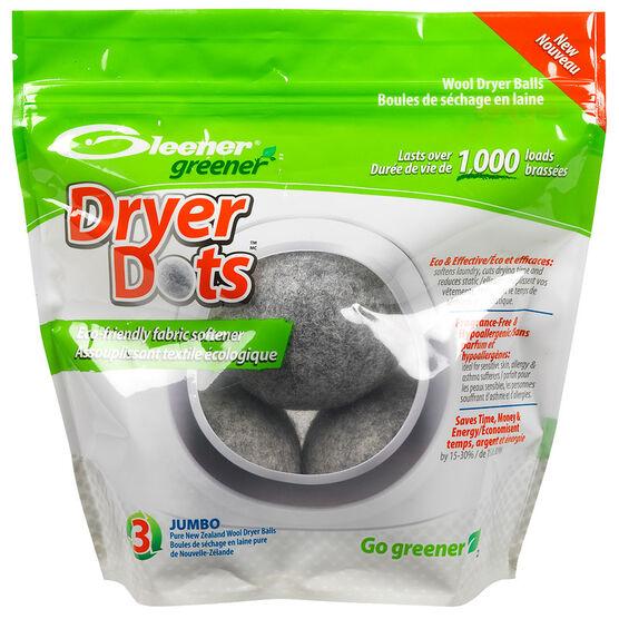 Gleener Dryer Dots - Jumbo - 3 pack