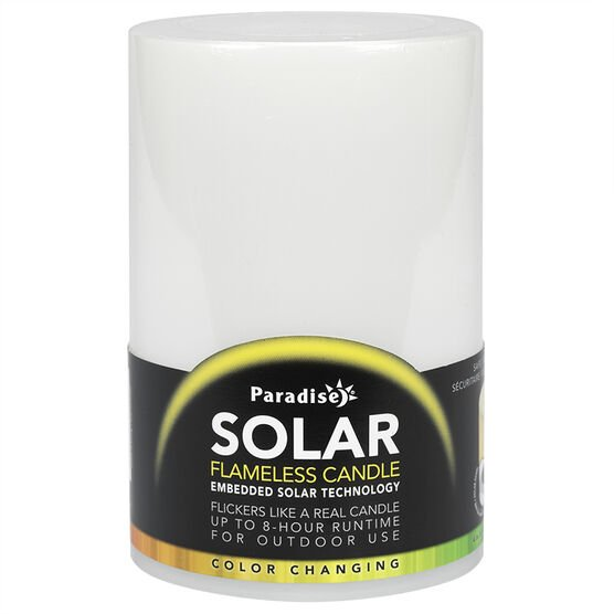 Solar Flameless Candle - Large