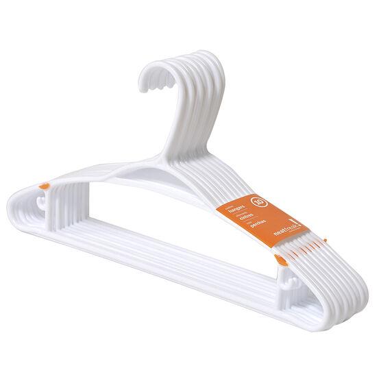 NeatFreak Hangers - White - 10 pack