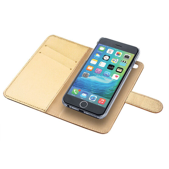 Macbeth Wallet Case for iPhone 6- Gold - 51775