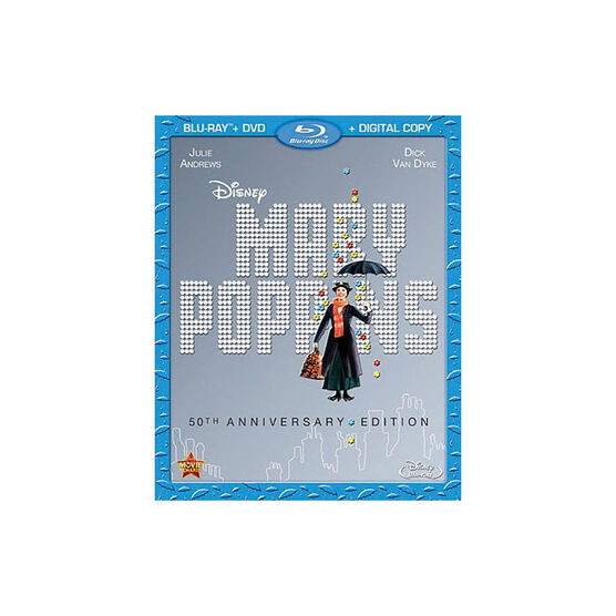 Mary Poppins: 50th Anniversary Edition - Blu-ray + DVD + Digital