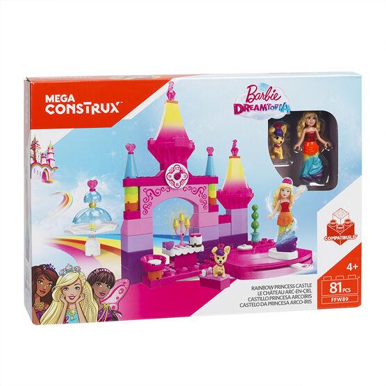 Mega Construx Barbie - Rainbow Castle