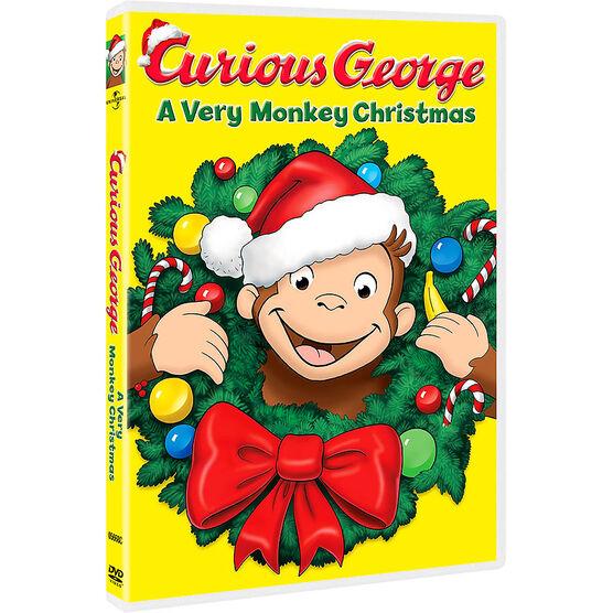 Curious George: A Very Monkey Christmas - DVD