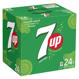 Seven-Up - 24 x 355ml cans