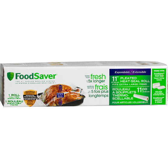 FoodSaver Expandable Roll - 11 x 16in