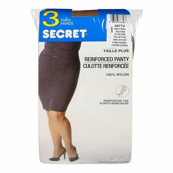 Secret Value Pack - Queen - Neutral - 3 pair