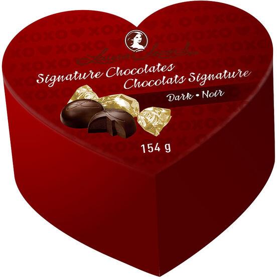 Laura Secord Dark Chocolate Heart - 154g