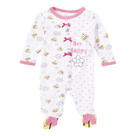 Baby Mode Bee Happy Coverall - 7614 - Assorted