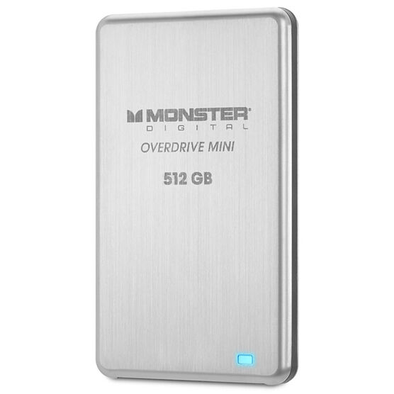 Monster 512GB OverDrive Mini SSD External Drive - SSDOM-0512-A