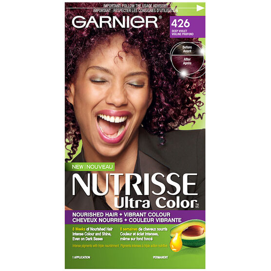 Garnier Nutrisse Ultra Color Permanent Hair Colour - 426 Deep Violet