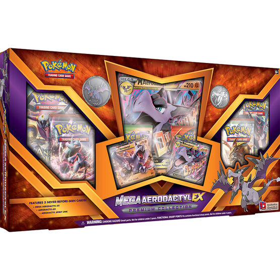 Pokémon Mega Aerodactyl-Ex Premium Collection - Assorted
