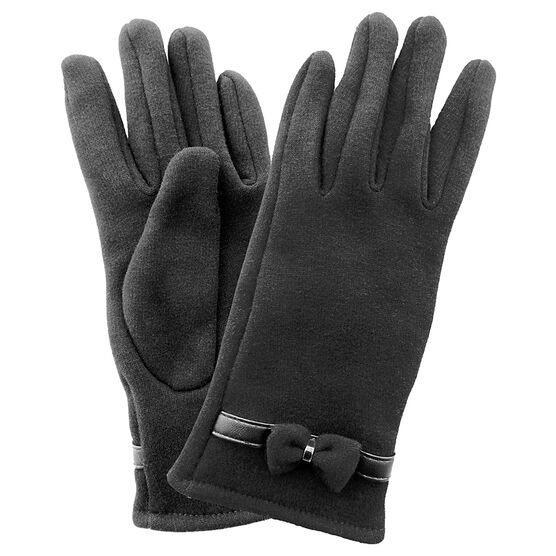 Simon Chang Ladies Gloves with Bow - Assorted