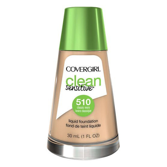 CoverGirl Clean Sensitive Liquid Foundation - Classic Ivory - 510