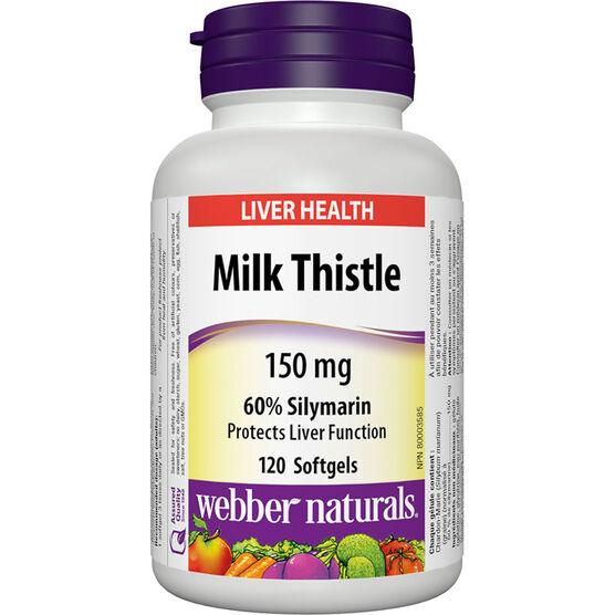 Webber Naturals Milk Thistle - 150mg - 120's