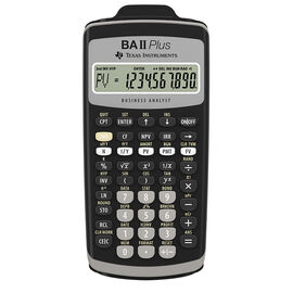 Texas Instruments Business/Financial Calculator - BAIIPLUS