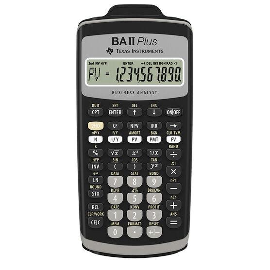 Texas Instruments Business/Financial Calculator - BAIIPLUS