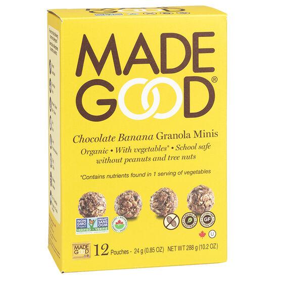 Made Good Granola Minis - Chocolate Banana - 12 pack