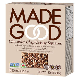 Made Good Crispy Squares - Chocolate Chip - 6 Pack