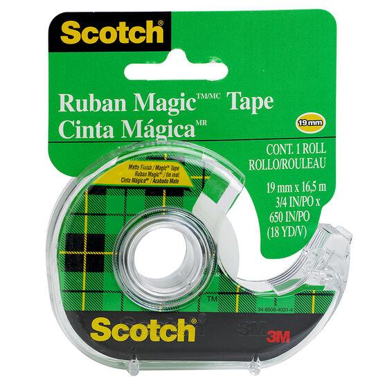 3M Scotch Magic Tape - 19mm x 16m