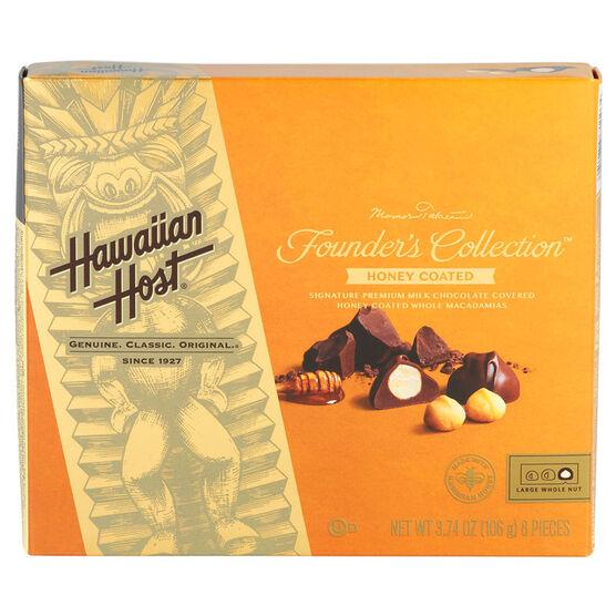 Hawaiian Host Honey Chocolate Macadamias - 106g