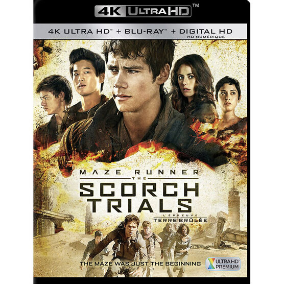 The Maze Runner: The Scorch Trials - 4K UHD Blu-ray