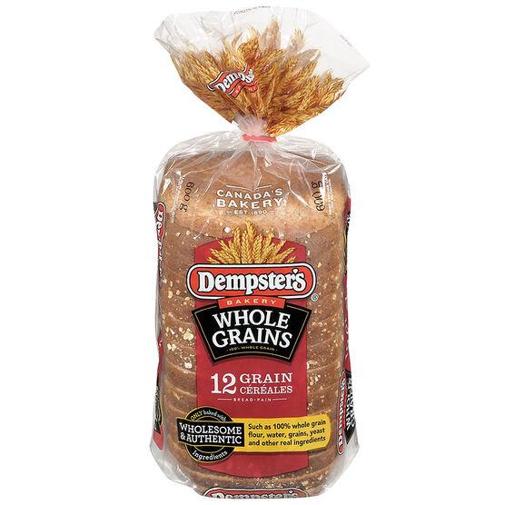 Dempster's WholeGrains 12 Grain Bread - 600g