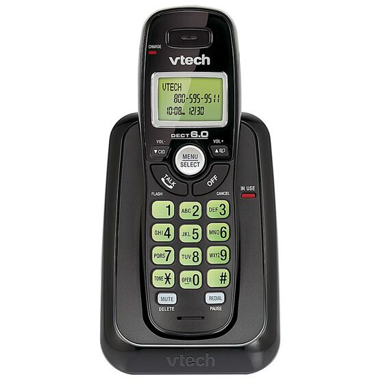 Vtech Cordless Phone with Caller ID - Black - CS611411