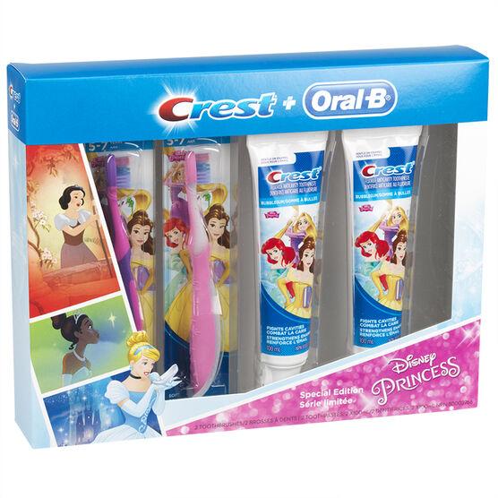 Crest + Oral B Special Edition Disney Princess Pack