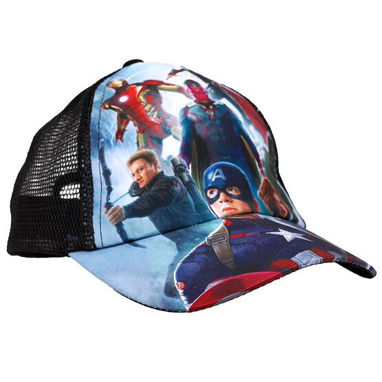 Avengers Baseball Cap - Assorted - 7-10X