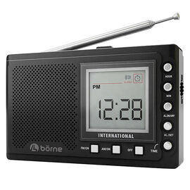 Borne Short Wave Radio - Black - PR1200SW