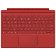 Microsoft Surface Pro 4 Type Cover - Red - QC7-00005
