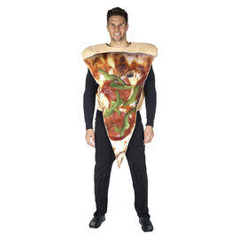 Halloween Foam Pizza Costume - Adult