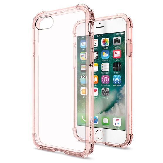 Spigen Crystal Shell for iPhone 7 - Rose Crystal - SGP042CS20308